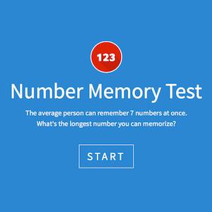 De biologische klok & numeriek geheugen